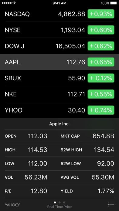 Screenshot von Aktien1