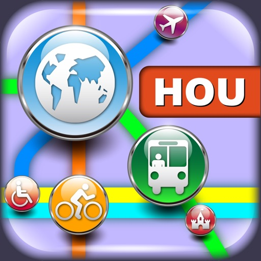 休斯顿(美国)地图  Houston Maps - Download Metro Maps and Tourist Guides.