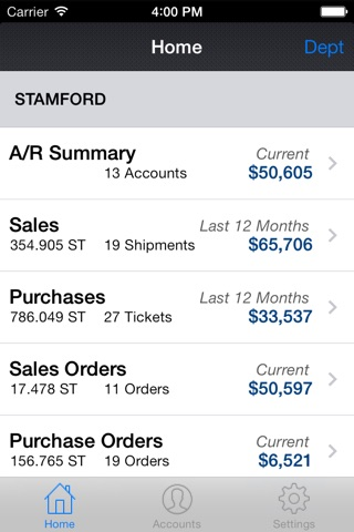 cieMobile for iPhone screenshot 1