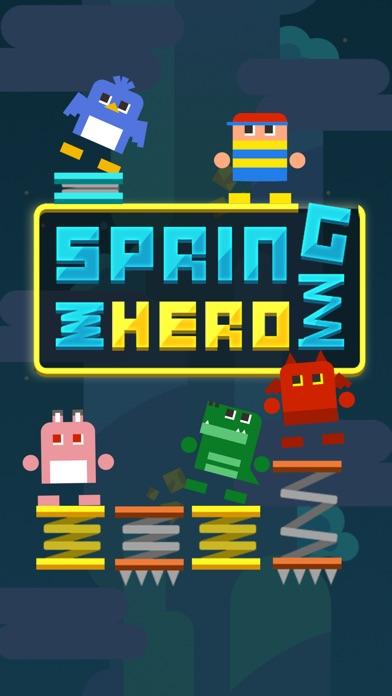 Spring Hero - Spring it up! Screenshot