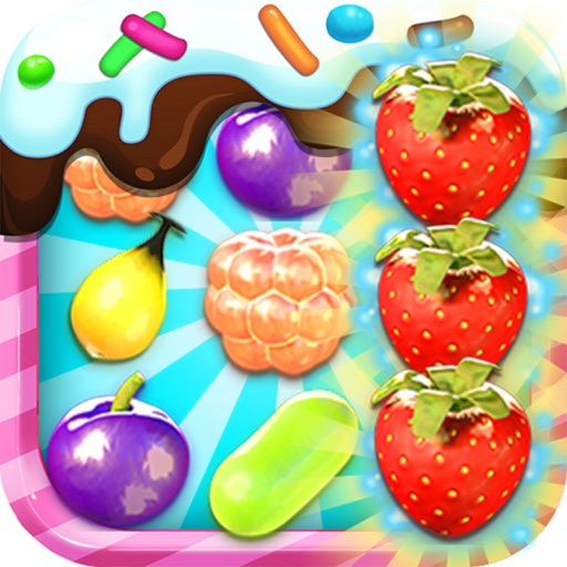 Candy Fruit 3 iOS App