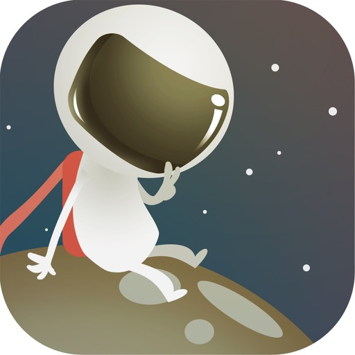 Cute Mega Astronaut Dasher Run iOS App