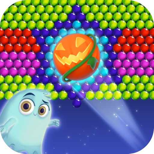 Bubble Monster Halloween iOS App