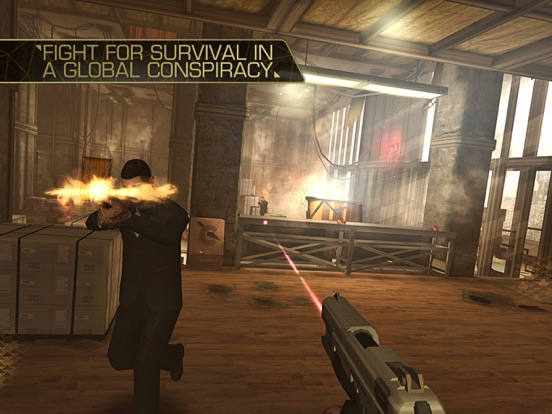 Screenshot #2 for Deus Ex: The Fall