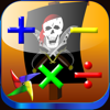 Games Math Pirate - Quiz Trainer for Kids - Educational App for First, Second, Third and Fourth Grade