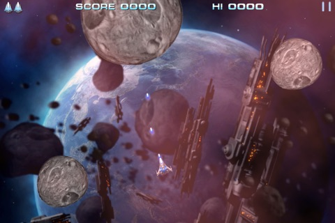 Retro Dust - Classic Arcade Asteroids Vs Invaders screenshot 2
