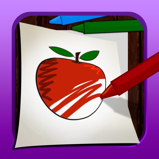 ABC Coloring Town iOS App