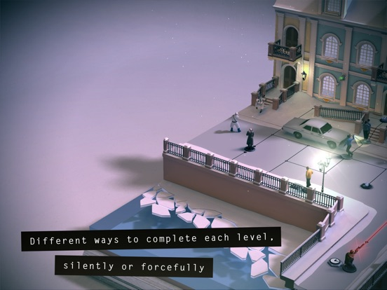 Screenshots of Hitman GO for iPad