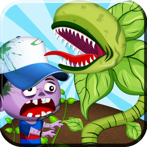 Zombies Hate Plants Free iOS App