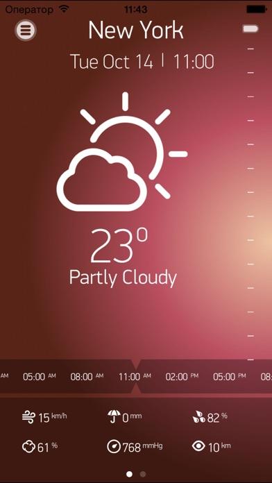 Прогноз погоды на 15 днейСкриншоты 2