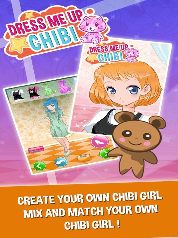 Chibi Princess Anime Fun Dress Up Games For Girls On The