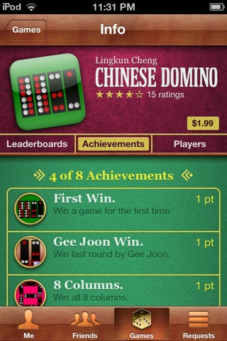 Chinese Domino screenshot 2
