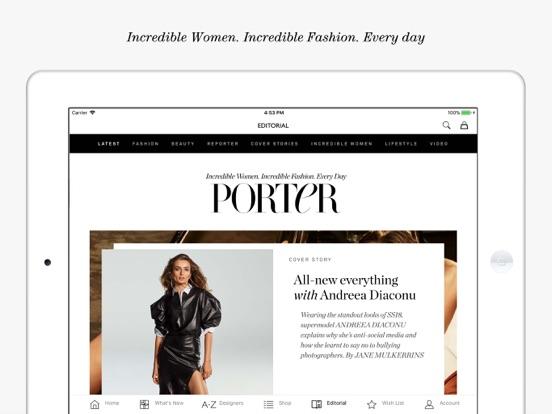 NET-A-PORTER: Designer Fashion Скриншоты8