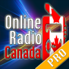Online Radio Canada PRO - The best Canadian stations & Music Talks News are there!