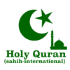 Holy Quran (Sahih International Translation)