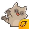 Dazzled Rockoon - Mango Sticker sticker translator