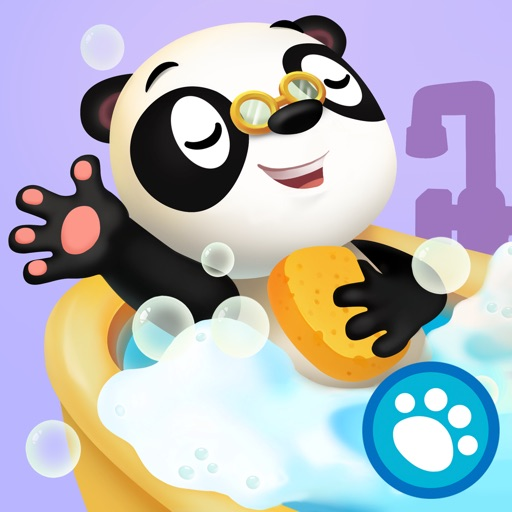 Dr. Panda Bath Time app for ipad
