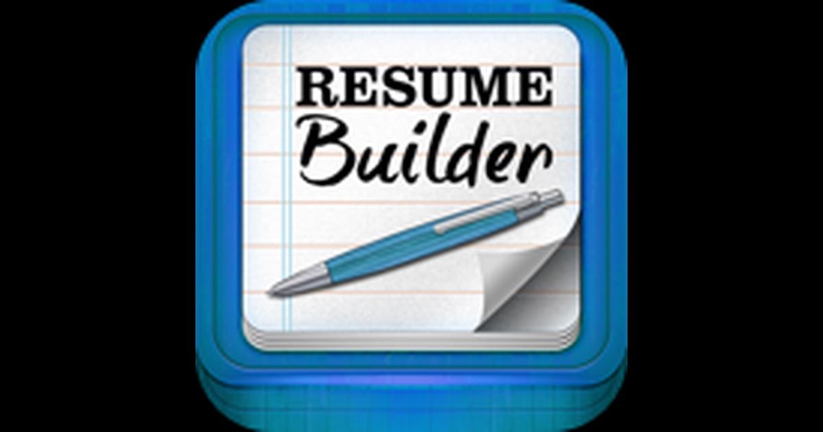 resume builder pro 在 app store 上的内容