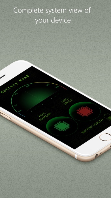 Screenshot #7 for Battery Max - With System Monitor Add-on