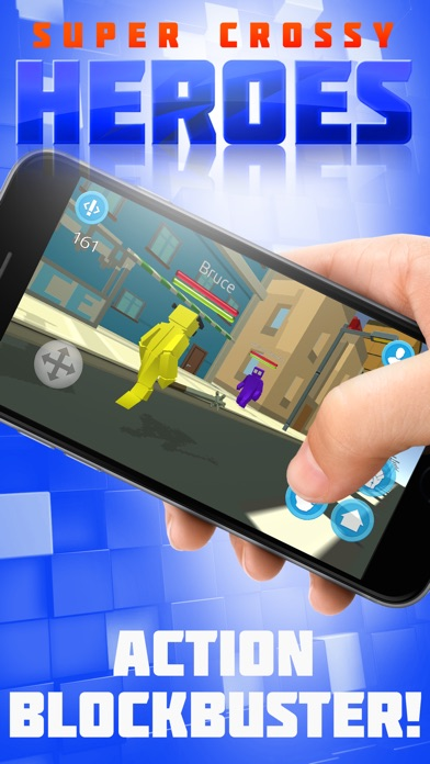 Super Crossy Heroes Screenshot
