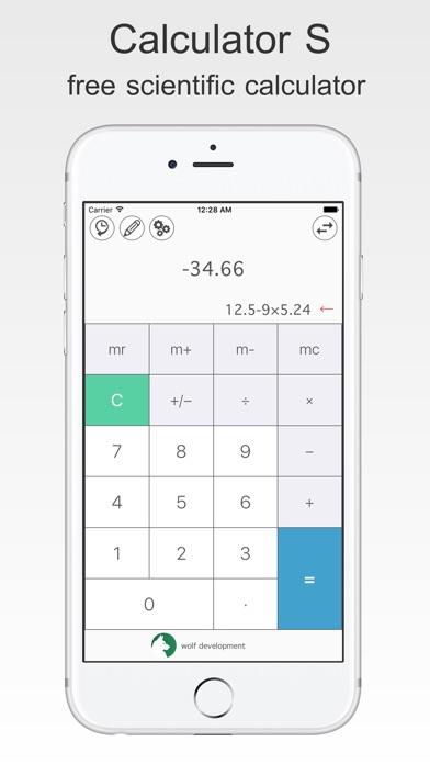 бесплатный Калькулятор S Скриншоты3