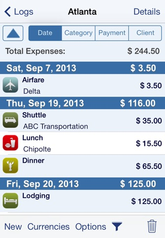 XpenseTracker - Expense Tracker & Mileage Log screenshot 1