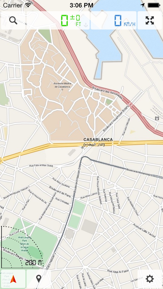Марокко - Offline Map & GPS NavigatorСкриншоты 2