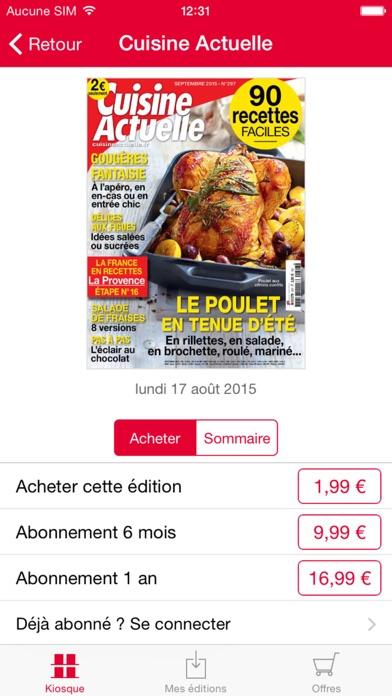 Cuisine Actuelle Le Magazine review screenshots