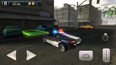 Screenshot of Police Car Parking Simulator Game4