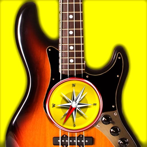 Bass Chords Compass - learn & play chord charts By Max Schlee