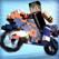 マインクラフト 単車 レース . 無料 バイク ゲーム 子供 3D