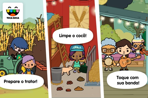 Toca Life: Farm screenshot 2