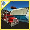 鉄道輸送船 - トラック輸送ゲーム
