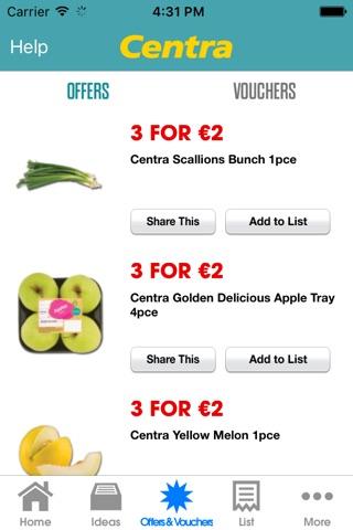 Centra - Offers & Vouchers screenshot 2