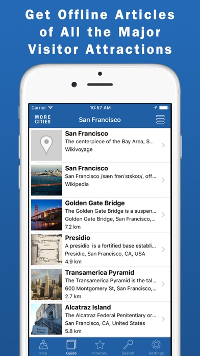 San Francisco Guide & Maps screenshot one