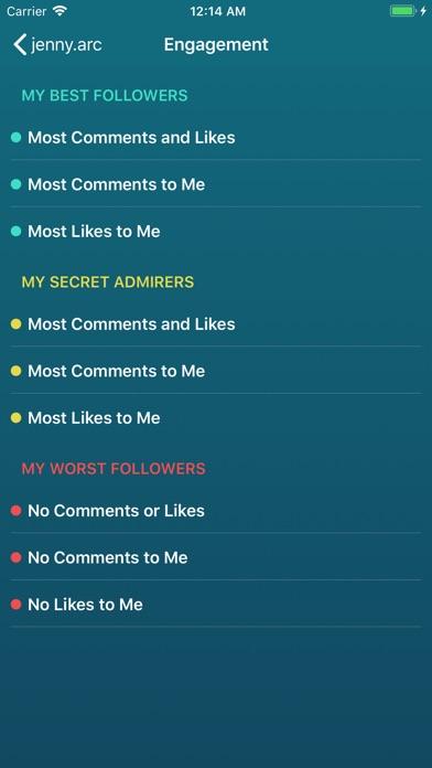 Followers Pro + for Instagram Screenshot 3