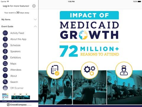 Screenshot of MHPA