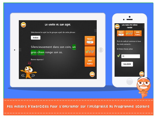 Screenshot #5 pour iTooch Les Bases du Français (FULL)