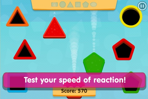 Smart Baby Shapes: Learning games for toddler kids screenshot 3