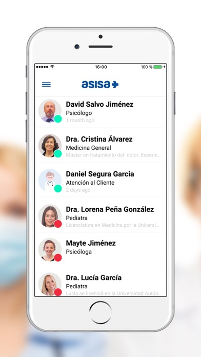 download Chat Médico Asisa apps 3