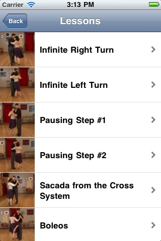 Learn Argentine Tango (Volume 2) screenshot 2
