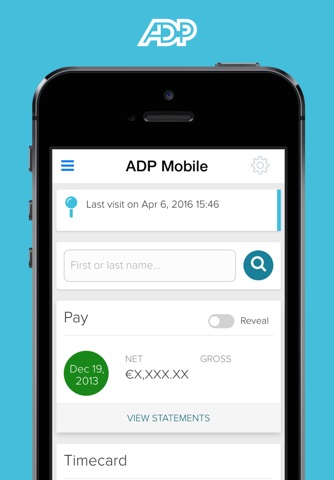 ADP Mobile Solutions screenshot 1
