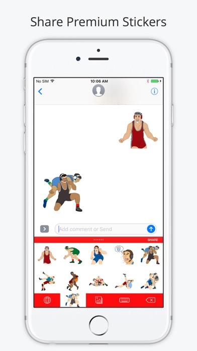 Wrestlemoji screenshot 1
