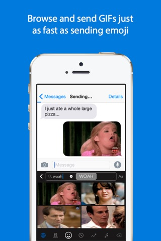 GIF Keyboard screenshot 2