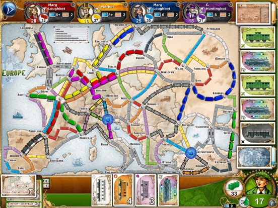 Screenshot 2 Ticket to Ride
