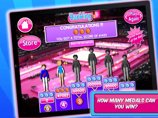 Игра Gymnastic & Dance Girls Game