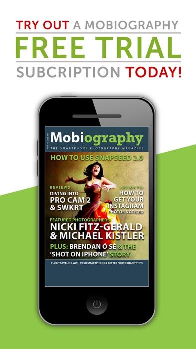 Mobiography review screenshots