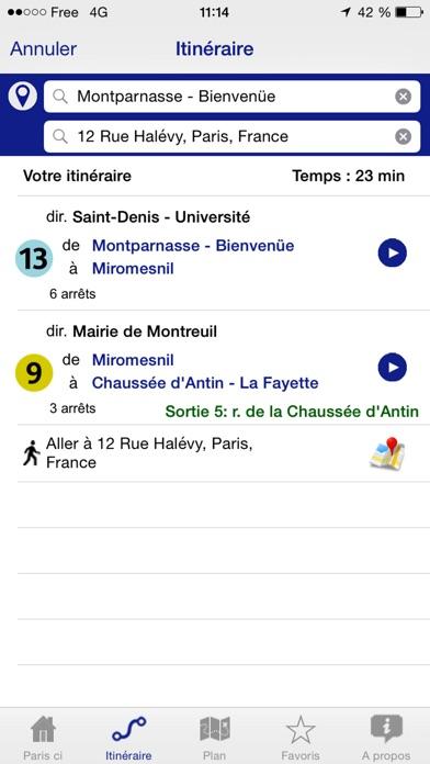 download Paris ci la sortie du Métro apps 0