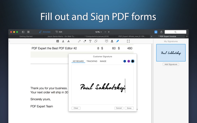 PDF Expert - Edit and Sign PDF Screenshots