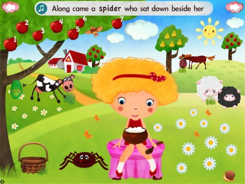 Little Miss Muffet HD screenshot 3